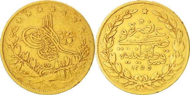Turkey Gold 100 Kurush Coins Gold Ira Guide