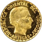 Uruguay Gold 5 Pesos