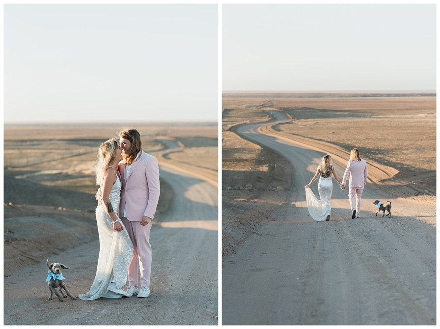 2018 08 05 0036 - Issy + Zac, Coober Pedy Elopement