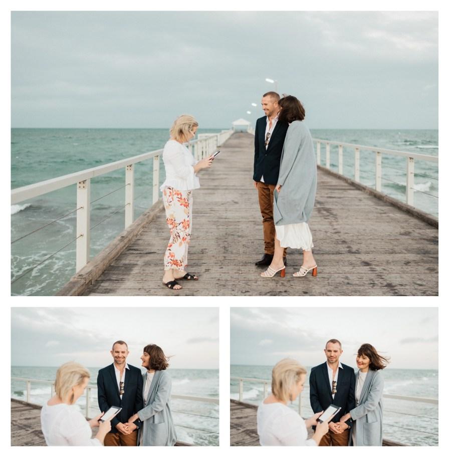 adelaidephotographer 0015 - Renee + Nic, Henley Beach Elopement