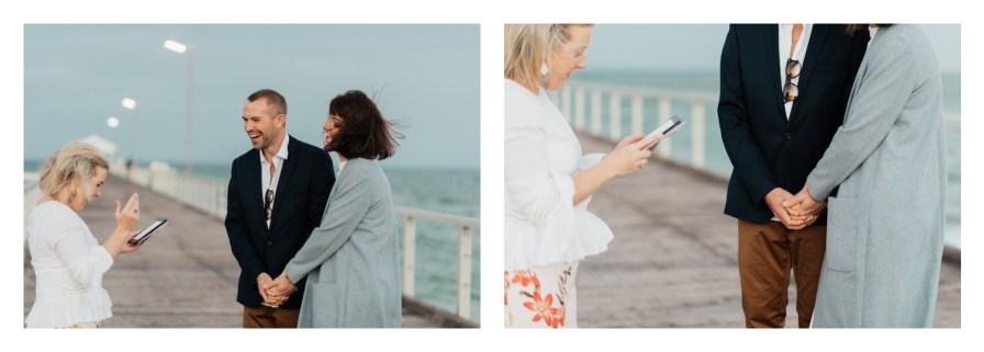 adelaidephotographer 0017 - Renee + Nic, Henley Beach Elopement
