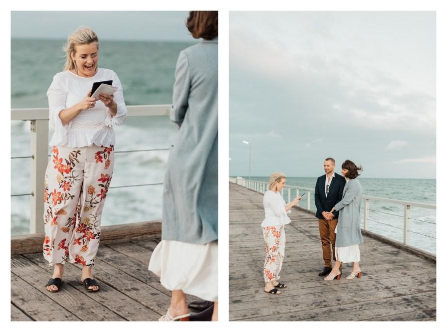 adelaidephotographer 0020 - Renee + Nic, Henley Beach Elopement