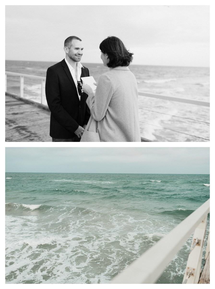 adelaidephotographer 0031 - Renee + Nic, Henley Beach Elopement