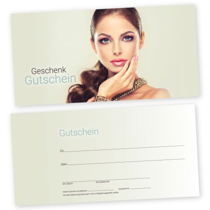 Geschenkgutschein Cosmetic BEAUTY STYLE (Gutscheinkarte)