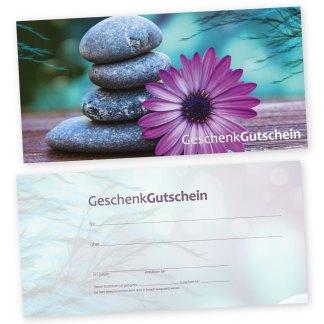 Entspannung Gutscheinkarte GELASSENHEIT (Gutscheinkarte)