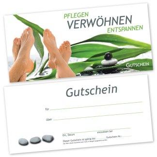 Podologie Gutscheinkarte FUß RELAX (Gutscheinkarte)