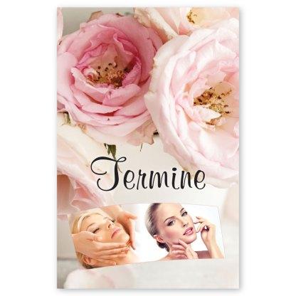 Kosmetikstudio Terminkarte VINTAGE BEAUTY
