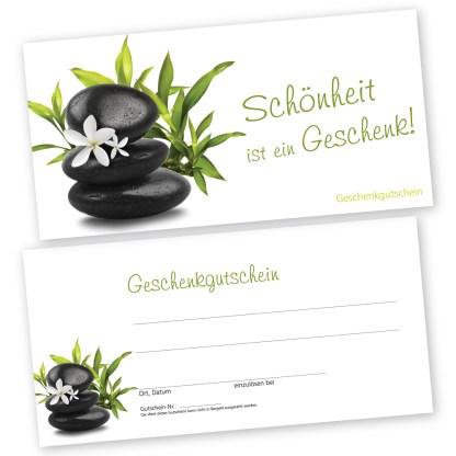 Entspannungsgutscheinkarte RELAXING GREEN (Gutscheinkarte)