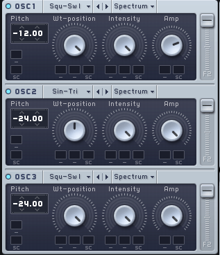 Massive Wavetables for Funk Synth Bass
