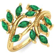 Buy Emerald Diamond Jewelry