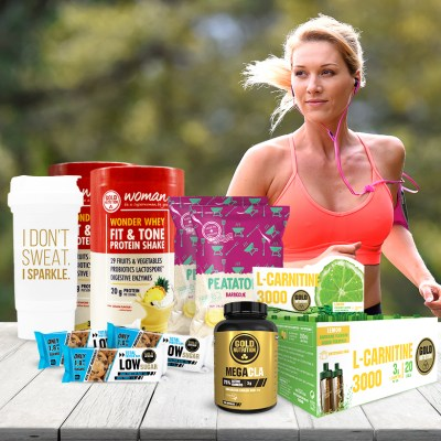 Pack Fitness Premium Mulher GoldNutrition