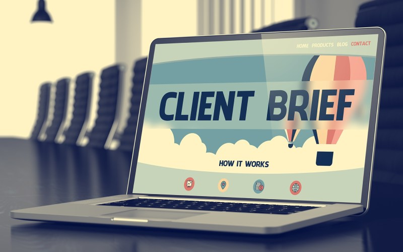 How to create a client brief