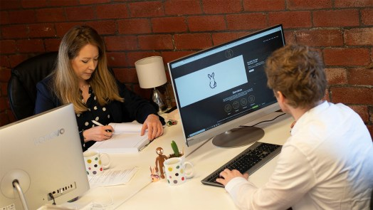 Gold rabbit, Graphic Designers move to Brighouse