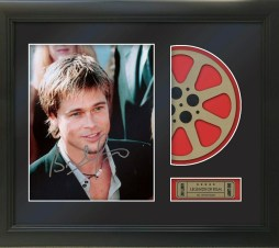 Framed Photo Reel Displays Reproduction Signature