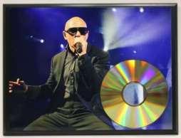 Gold CD Display
