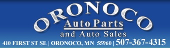 Oronoco Auto Parts and Sales