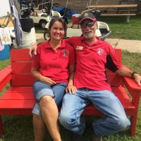 Oronoco Gold Rush Volunteers include husband and wife.