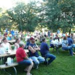 Oronoco NNO draws a crowd.