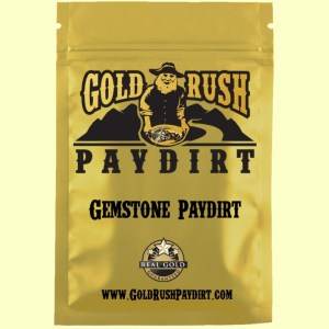 2.5 Pounds of GEMSTONE PAYDIRT from Alaska, Screened, Real Gold Guarantee!  Free Ship!