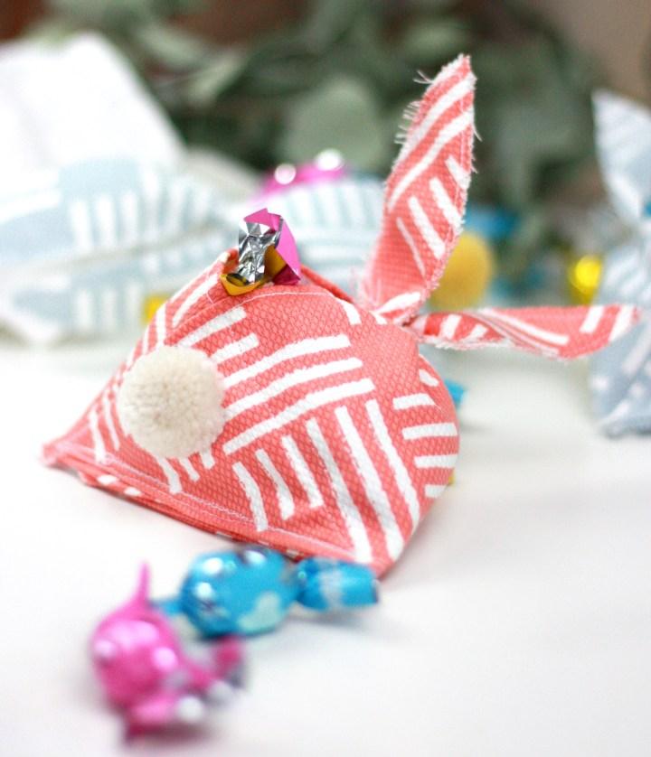 DIY: Hasen-Präsent-Täschchen für Ostern nähen