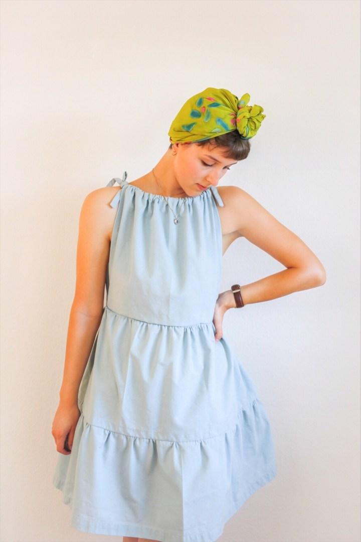 DIY: Einfaches Kleid mit Rüschen nähen