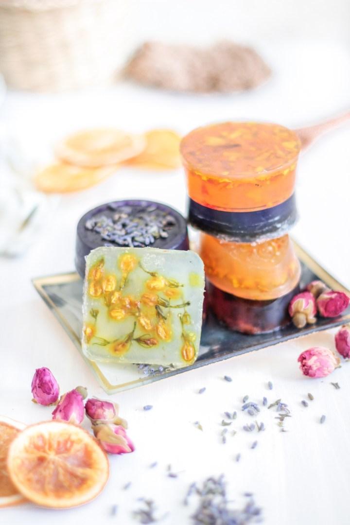 DIY Seife selbermachen – Rosen-, Lavendel- & Orangen-Duft