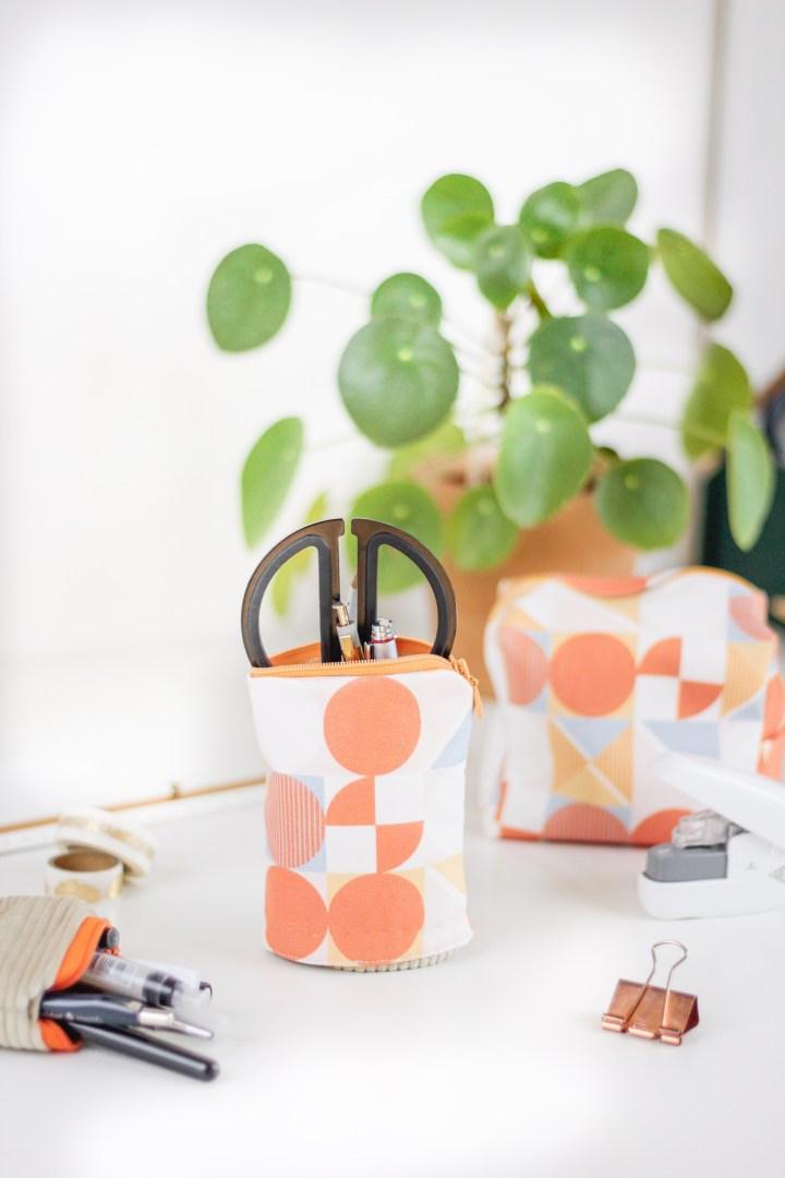 DIY Pop-Up Federmäppchen nähen