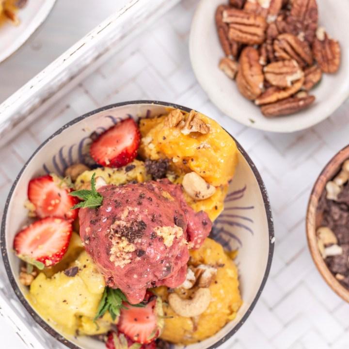 GOLDSCHOOL DIY Veganes Eis Selbermachen