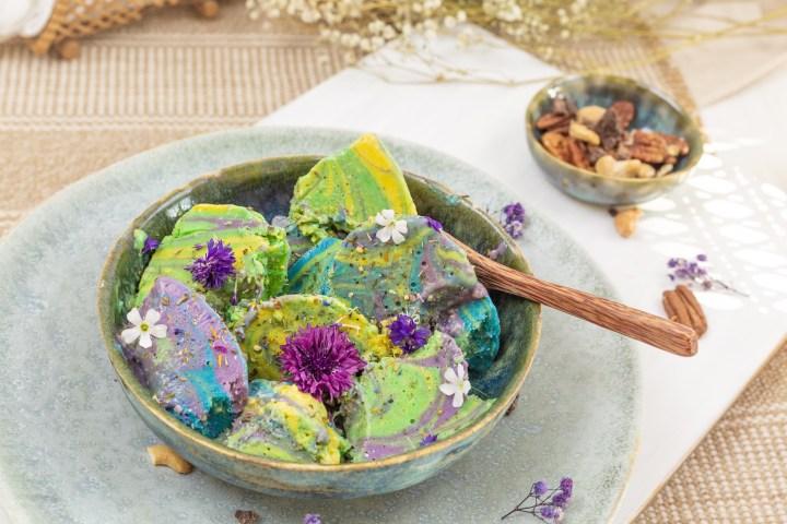Goldschool DIY veganer Eis selber machen