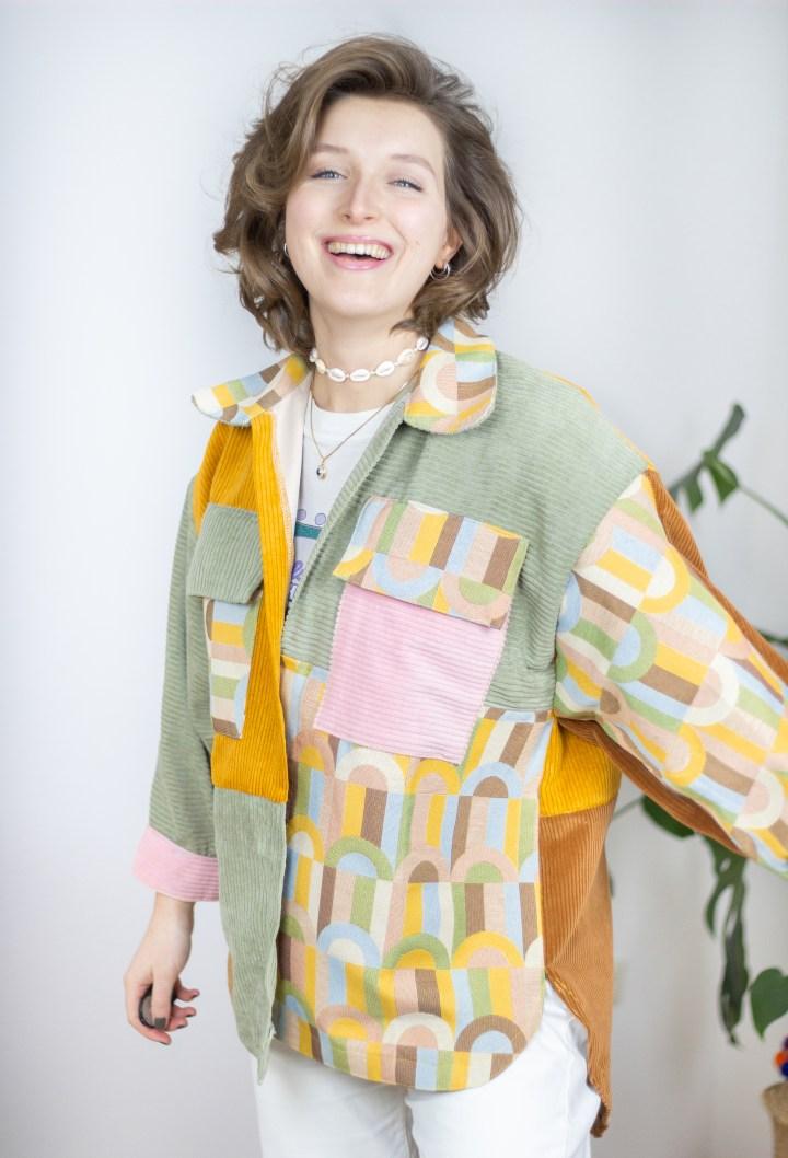 DIY Vintage Oversize Hemd / Shaket nähen