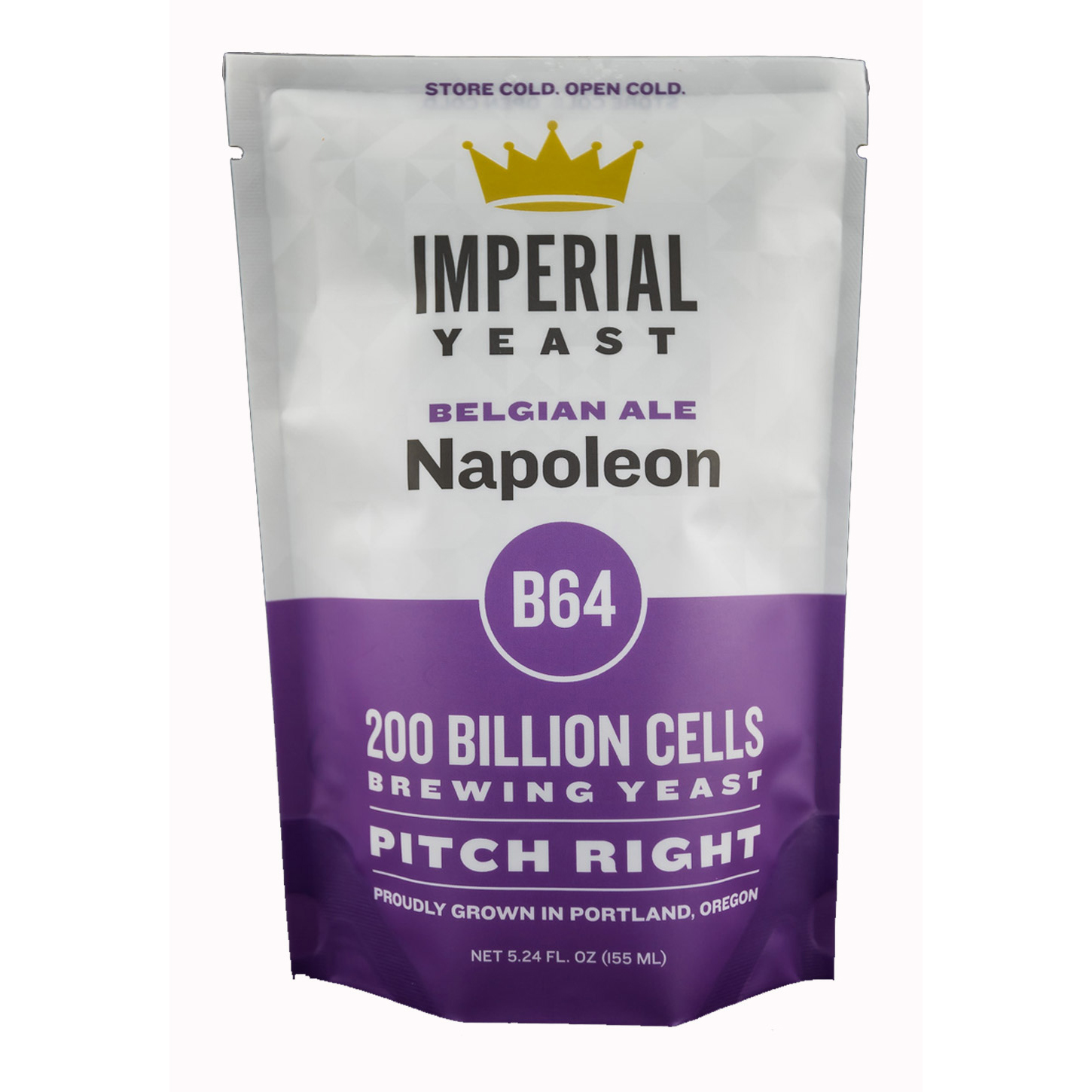 B64 Napoleon Ale Imperial Liquid Yeast Certified Organic
