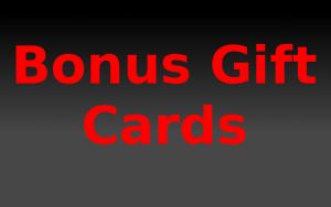 Get bonus gift cards this season