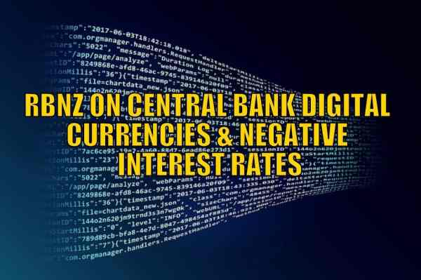 RBNZ on Central Bank Digital Currency and Negative ...