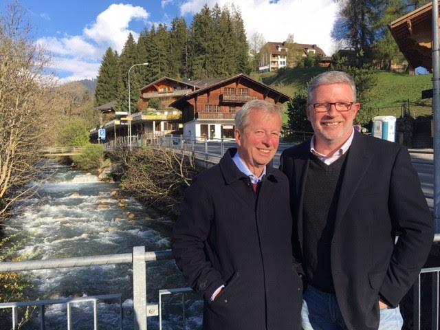 Egon von Greyerz & Grant Williams in the Swiss Alps