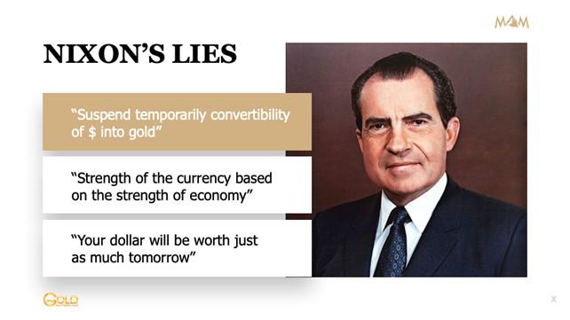 Nixon's lies
