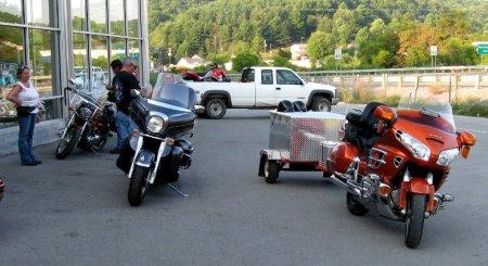 Blue Ridge Parkway Motorcycle Road Trip