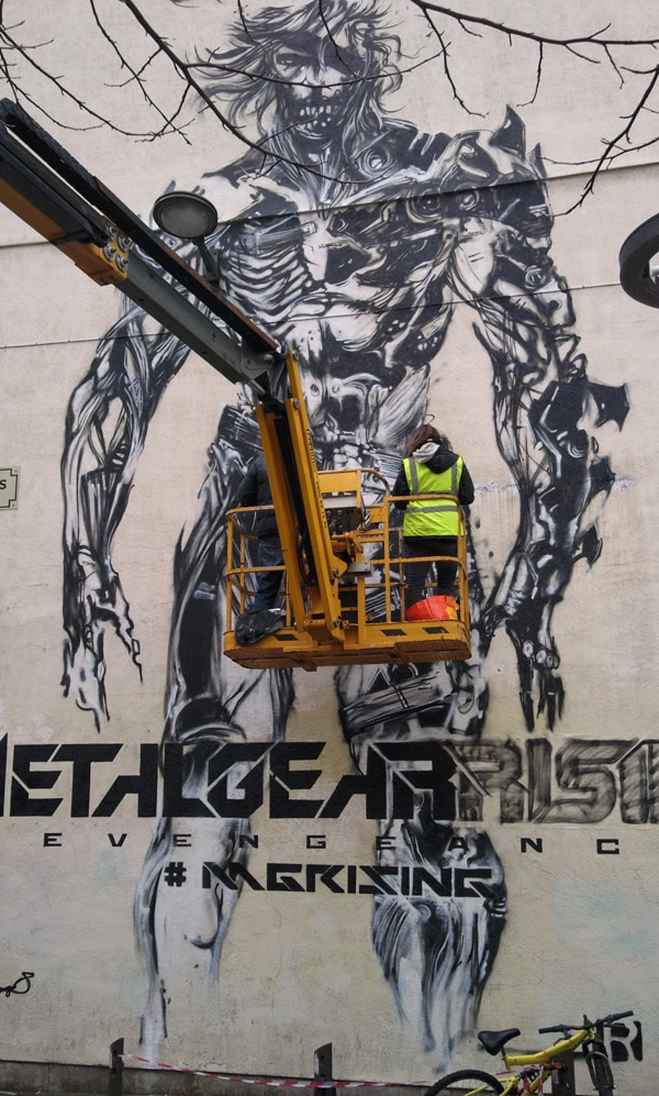 Metal-Gear-Rising-Liverpool streetart