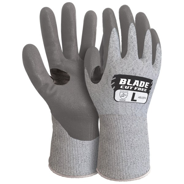 Armour Safety BLADE® PU Cut 5 Open Back Glove