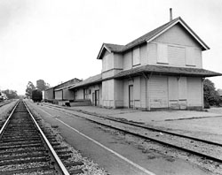 Goleta Depot was closed by the railroad
