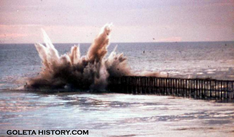haskells pier destruction