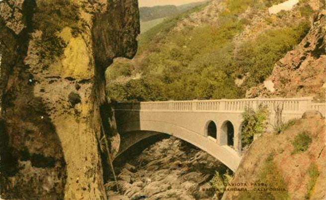 gaviota concrete bridge