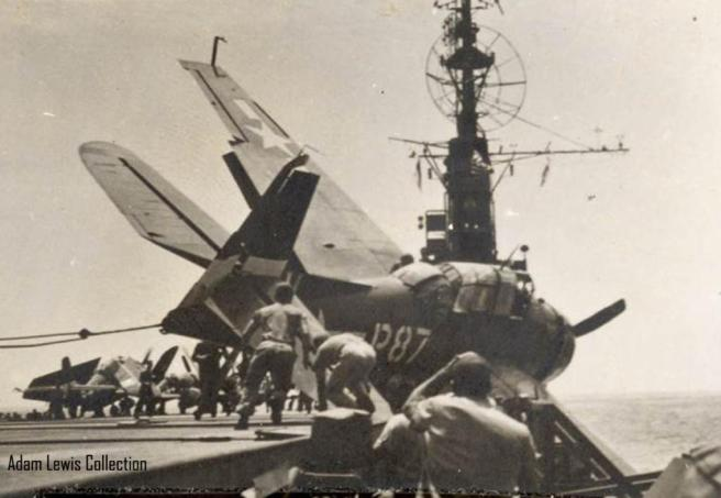 Aircraft carrier accident