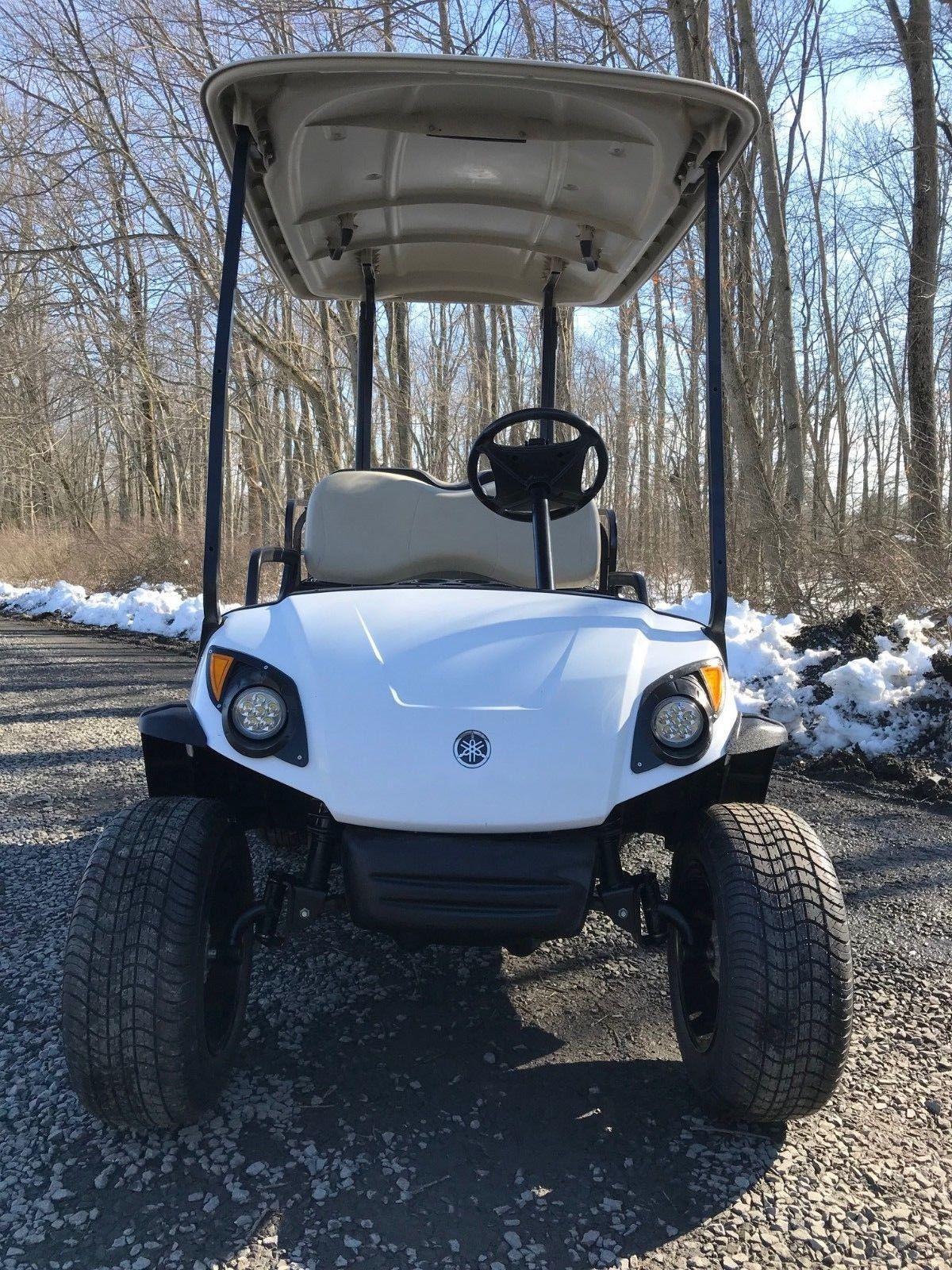 Lifted Yamaha G29 Drive Gas Golf Cart For Sale
