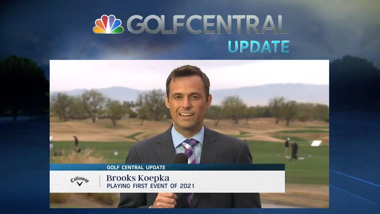 2021年ブルックス・ケプカの最新情報 ゴルフセントラル1月19日号