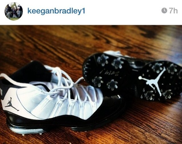 keegan bradley jordan 11 shoes