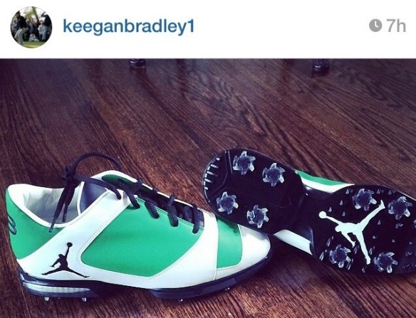 keegan bradley masters jordan shoes