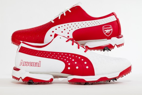 Arsenal Puma Golf Shoes