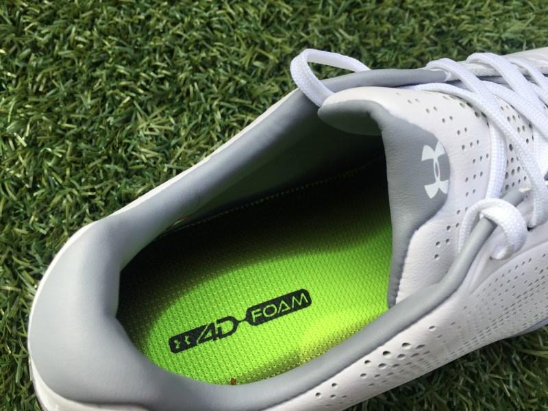 Jordan Spieth Shoe: 4D Foam Under Armour Drive One