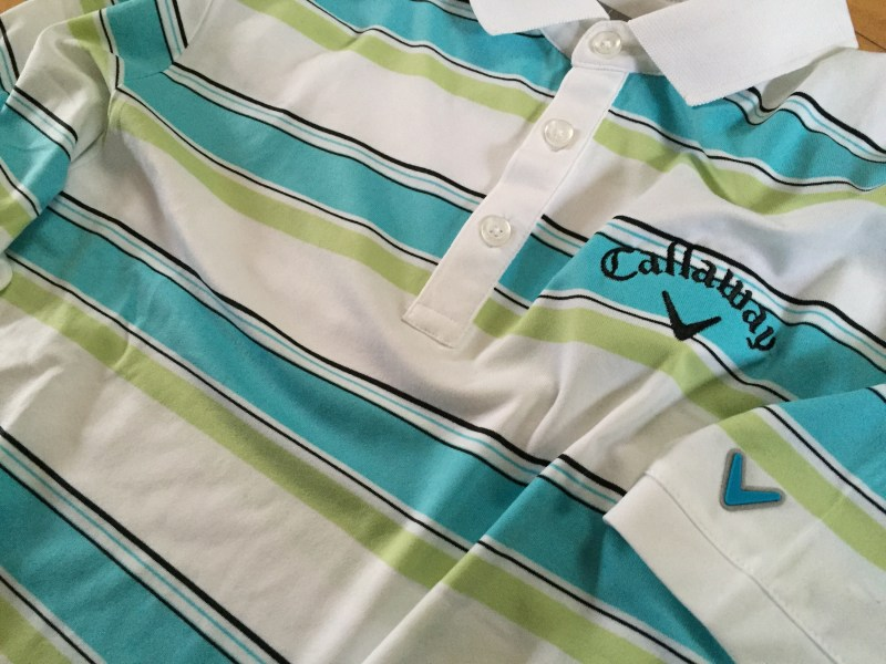 Callaway Golf Statement Stripe Polo