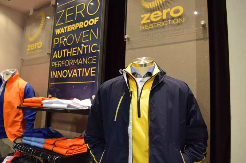 The waterproof Power Torque Full Zip Jacket